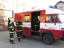17. 10. 2008  Zásah na vosy - Špilberk