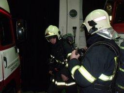 4. 12. 2010  Výcvik nositelů dýchací techniky - Vyhledávání osob v zakouřeném prostoru