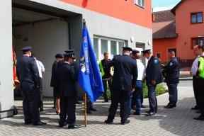 17. 6. 2016  Slavnost 105 let od založení sboru SDH Darkovice - Průvod, mše, žehnání hasičského praporu a automobilu, slavnostní schůze