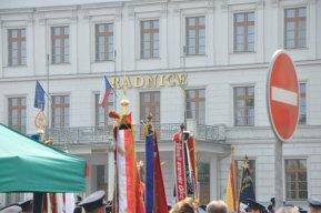 12. 5.  Celookresní svatofloriánské setkání hasičských zástav v Hlučíně