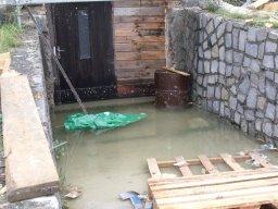 28. 6. 2018  Technická pomoc - čerpání vody ze zatopeného sklepa novostavby - ulice Dlouhá